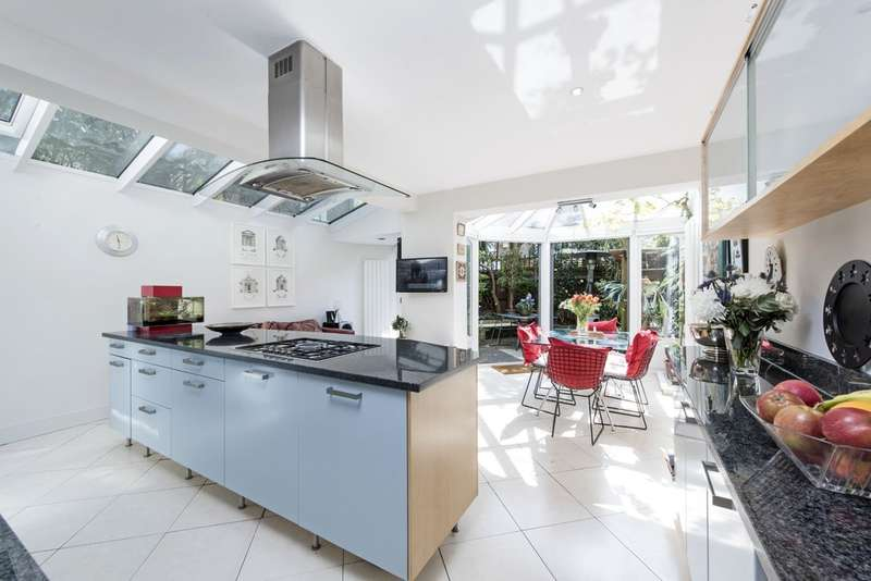 5 Bedrooms End Of Terrace House for sale in Culmstock Road, Battersea, London