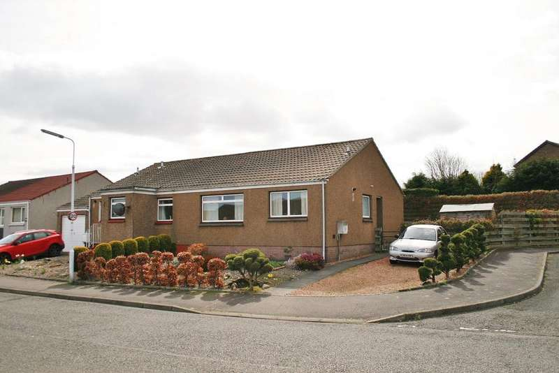 3 Bedrooms Semi Detached Bungalow for sale in 31 Long Craigs Terrace, Kinghorn, Fife, KY3 9TB