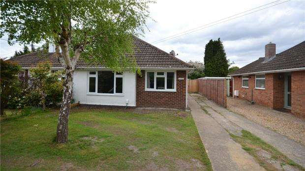 3 Bedrooms Semi Detached Bungalow for sale in Cranford Park Drive, Yateley, Hampshire