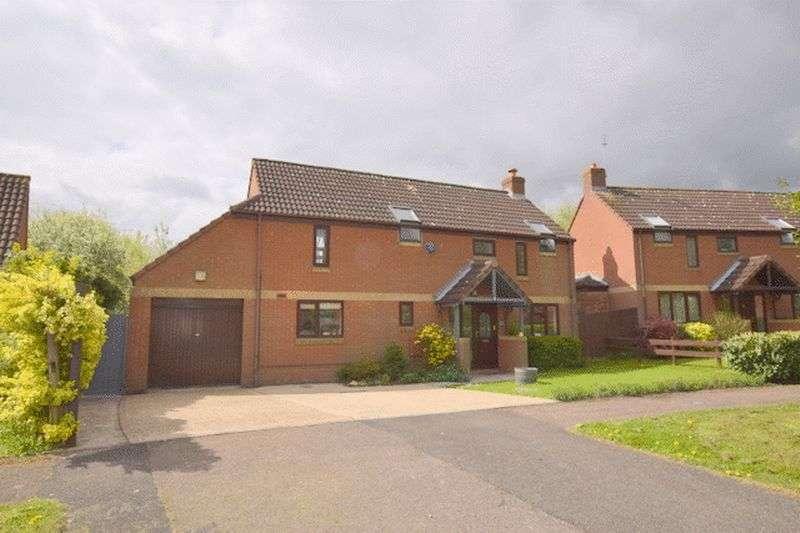 4 Bedrooms Detached House for sale in Peterborough Gate, Willen Park, Milton Keynes