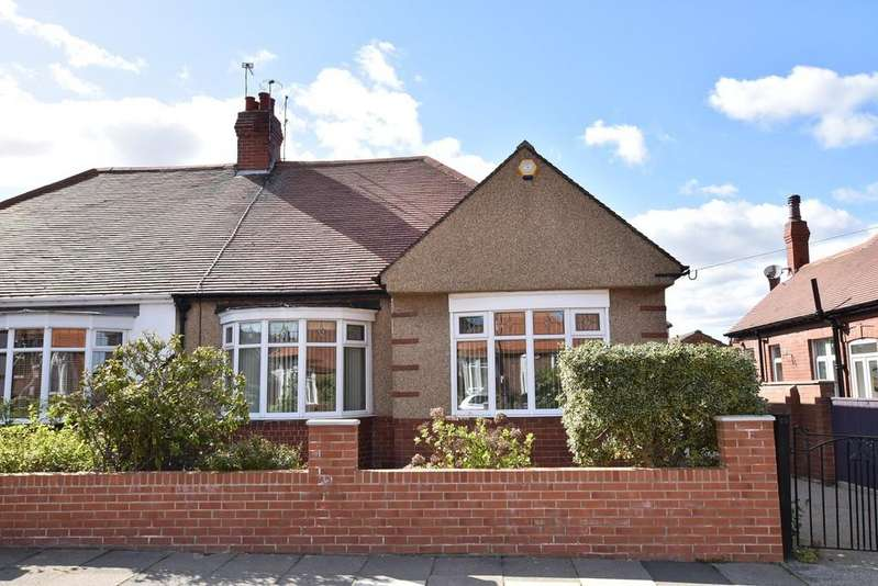 2 Bedrooms Semi Detached Bungalow for sale in St. Nicholas Avenue, Off Queen Alexandra Road