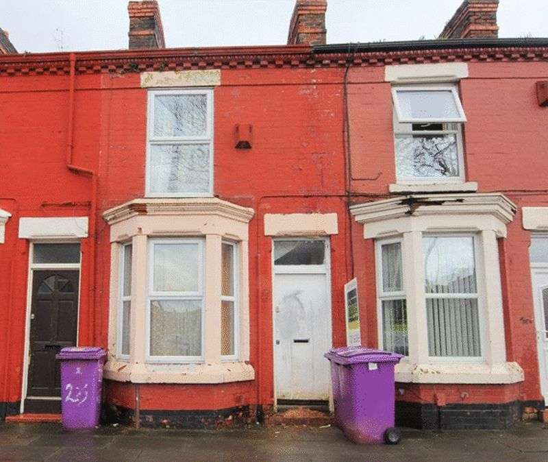 2 Bedrooms Terraced House for sale in Milverton Street, Kensington, Liverpool, L6