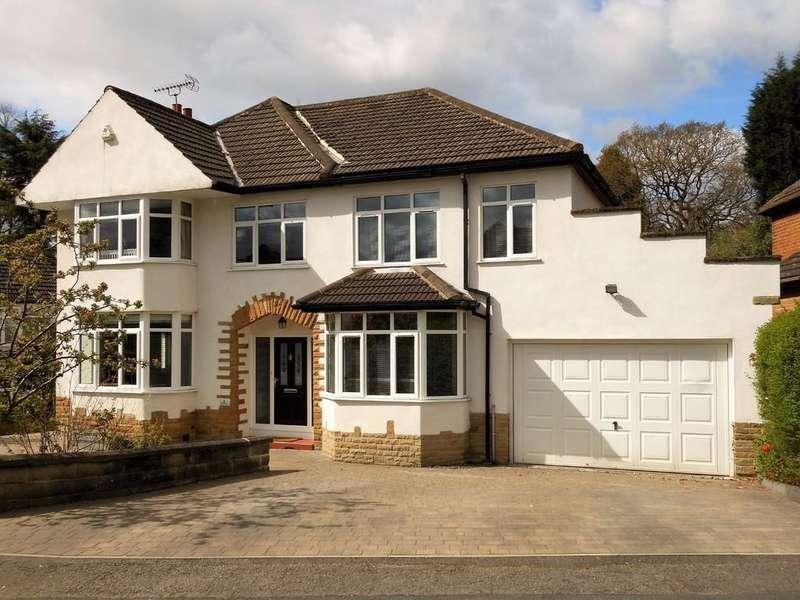 5 Bedrooms Detached House for sale in Oaklea Gardens, Adel