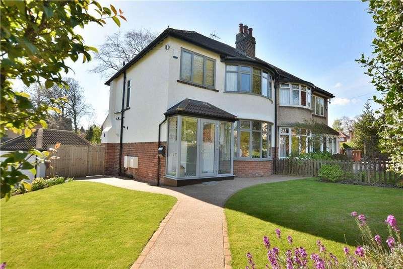 3 Bedrooms Semi Detached House for sale in Gledhow Park Drive, Chapel Allerton, Leeds