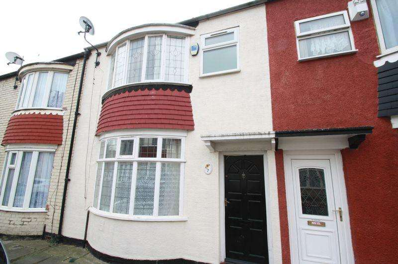 3 Bedrooms Terraced House for sale in Wake Street, North Ormesby, Middlesbrough, TS3 6NU
