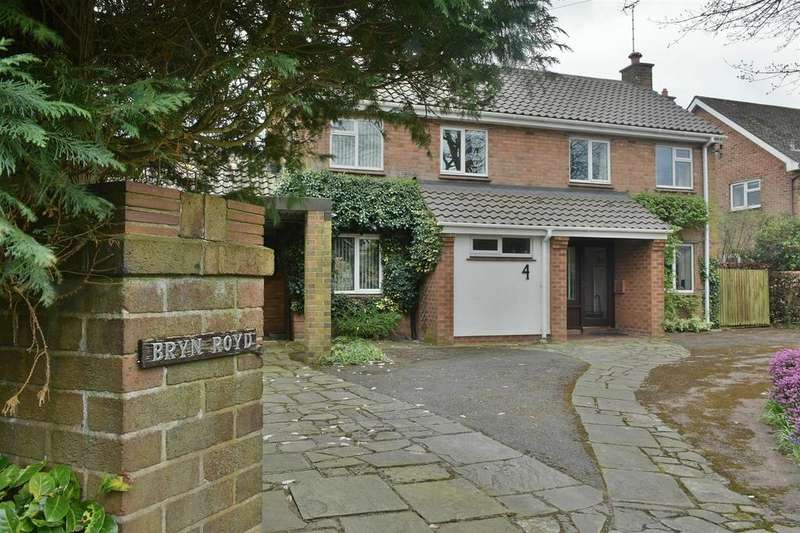 4 Bedrooms Detached House for sale in Churchfields, Sandiway