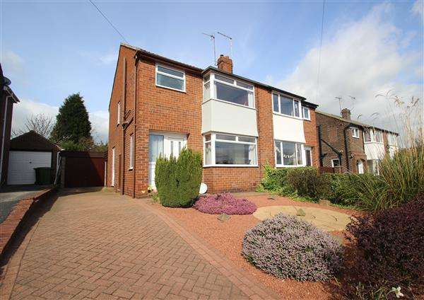3 Bedrooms Semi Detached House for sale in Brookside, Hemsworth