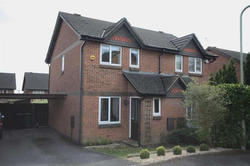 2 Bedrooms Semi Detached House for sale in Upper Barn Copse, Fair Oak, Eastleigh