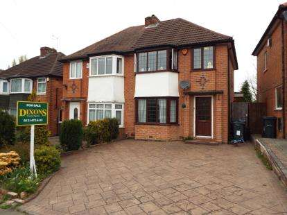 3 Bedrooms Semi Detached House for sale in Woolacombe Lodge Road, Selly Oak, Birmingham, West Midlands