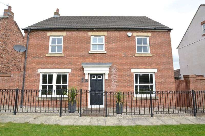 4 Bedrooms Detached House for sale in Warkworth Woods, Newcastle Upon Tyne