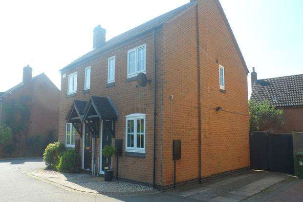 2 Bedrooms Semi Detached House for sale in Thornhills Grove, Narborough, Leicester, LE19