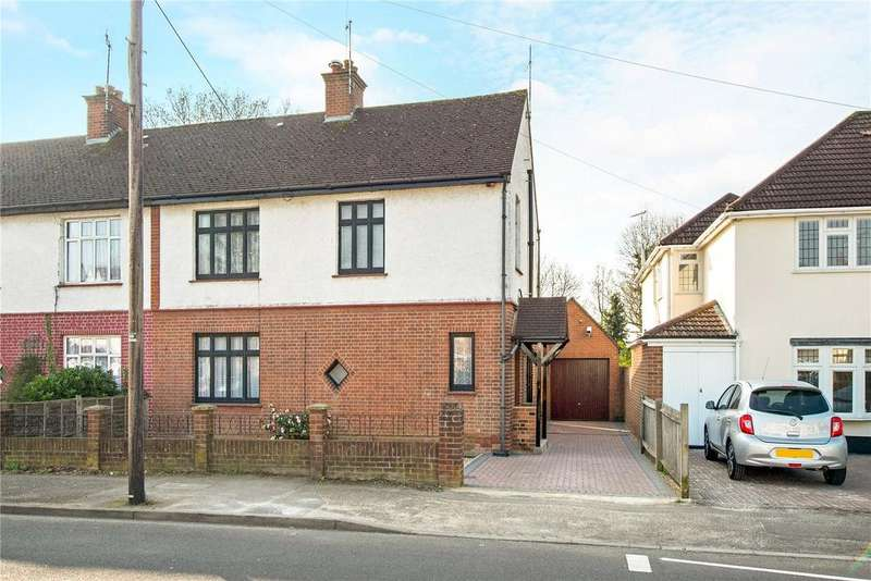 2 Bedrooms Semi Detached House for sale in Elm Avenue, Ruislip, Middlesex, HA4