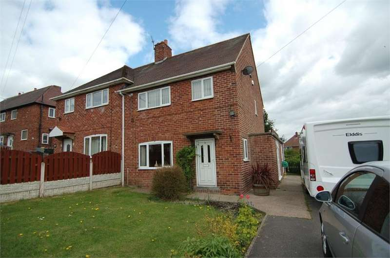 3 Bedrooms Semi Detached House for sale in 8 Challenger Crescent, Thurnscoe, ROTHERHAM, South Yorkshire