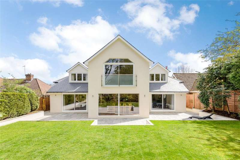 5 Bedrooms Detached House for sale in Abbots Ride, Farnham, Surrey