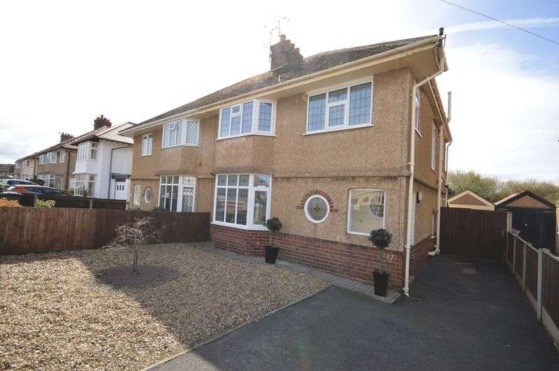 3 Bedrooms Semi Detached House for sale in Wynstay Road, Meols
