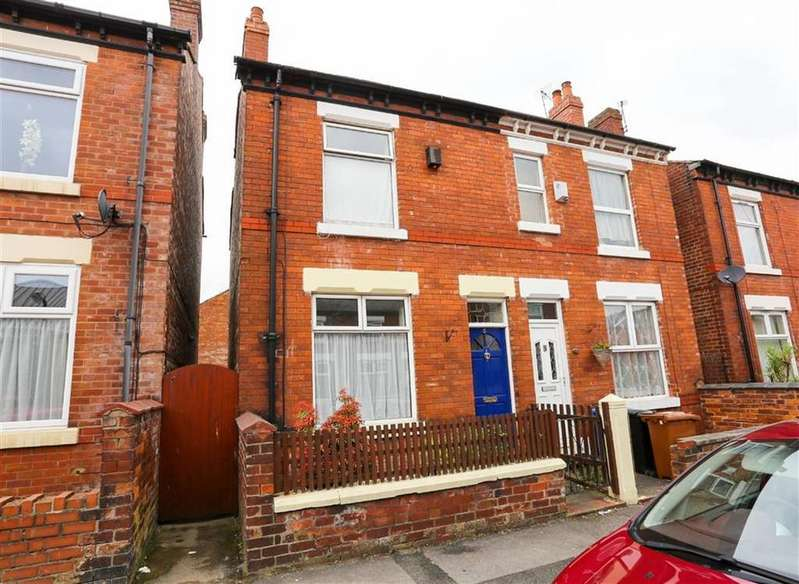 2 Bedrooms Semi Detached House for sale in Broadhurst Street, Shaw Heath, Stockport