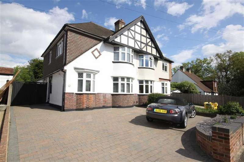 4 Bedrooms Semi Detached House for sale in Cloisters Avenue, Bickley
