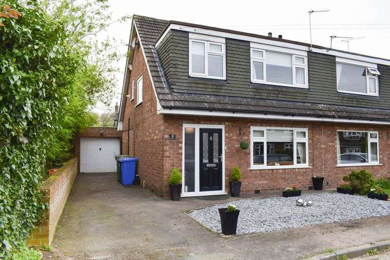 3 Bedrooms Semi Detached House for sale in Brookside Avenue, Lymm