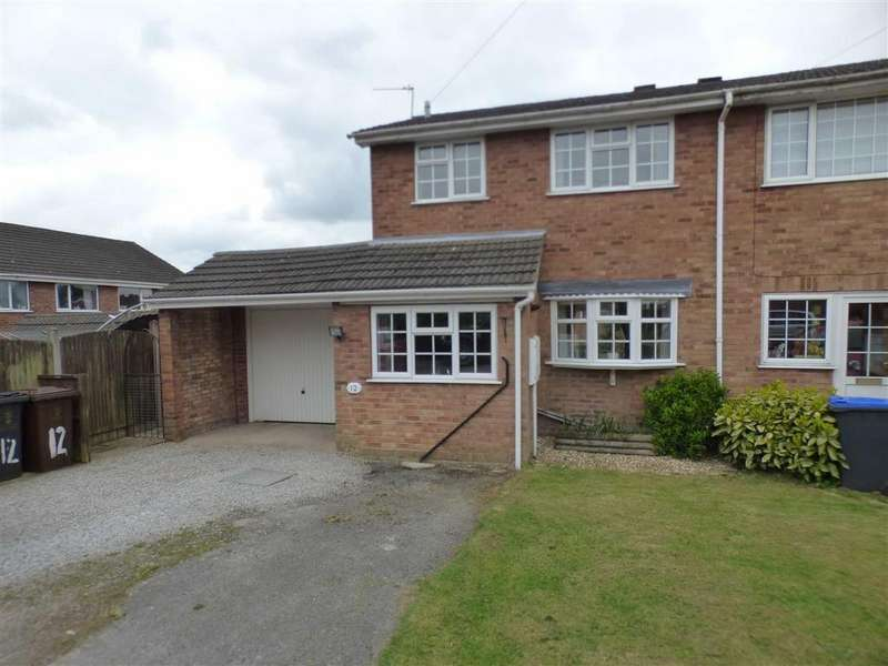 2 Bedrooms Town House for sale in 12, Barnfield Road, Upper Tean