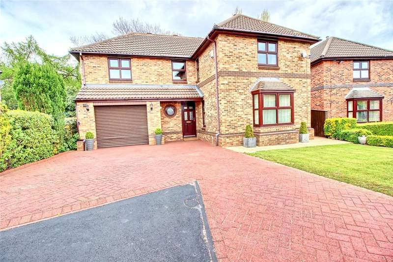 4 Bedrooms Detached House for sale in Abbey Court, Normanby