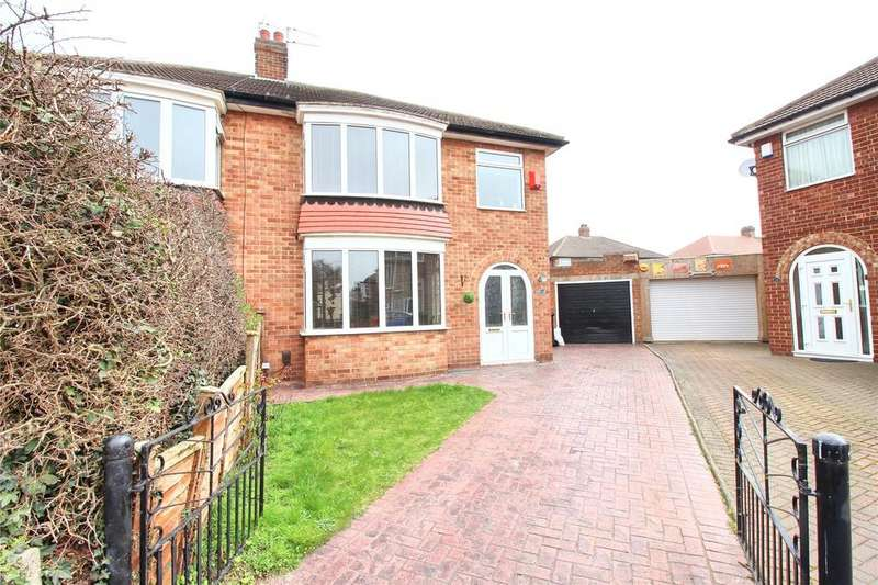 3 Bedrooms Semi Detached House for sale in Rushleigh Avenue, Acklam