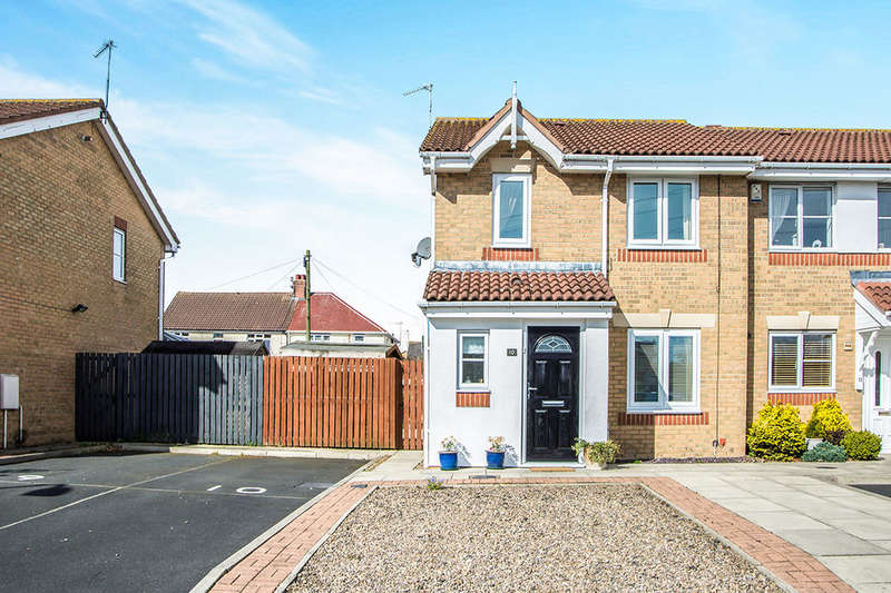 3 Bedrooms Semi Detached House for sale in Allonby Mews, Shankhouse, Cramlington, NE23
