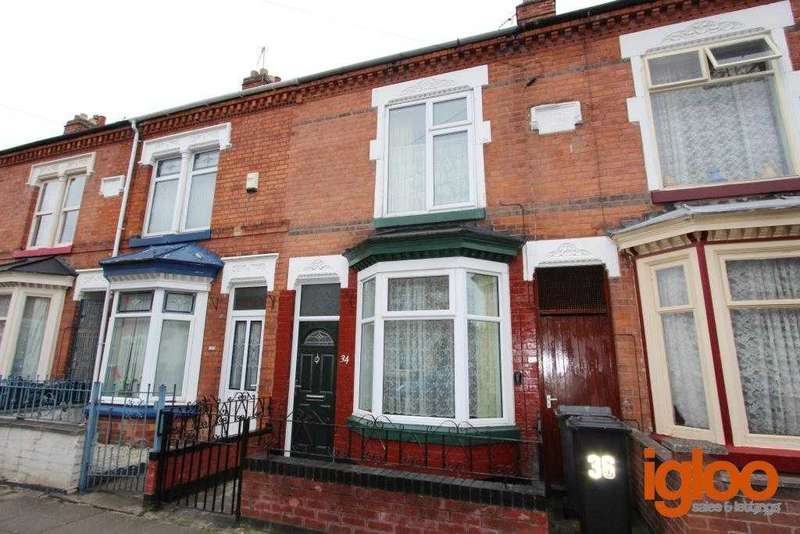 2 Bedrooms Terraced House for sale in Sylvan Street, Leicester
