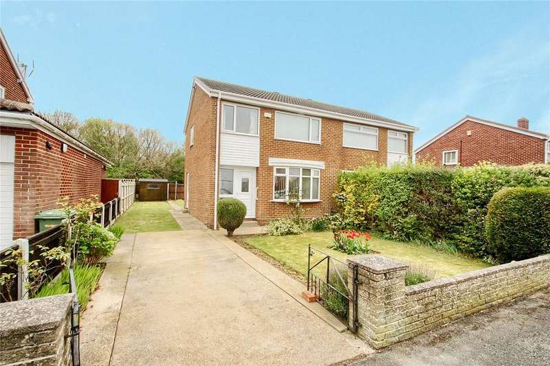 3 Bedrooms Semi Detached House for sale in Barkston Avenue, Bassleton Court