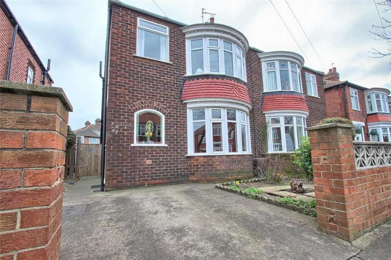 3 Bedrooms Semi Detached House for sale in Canterbury Road, Redcar