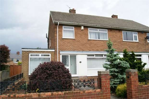 3 Bedrooms Semi Detached House for sale in Moorhouse Gardens, Hetton-le-Hole, Houghton le Spring, Tyne and Wear