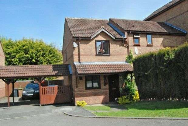2 Bedrooms Semi Detached House for sale in Ericsson Close, Daventry, Northampton NN11 0TP