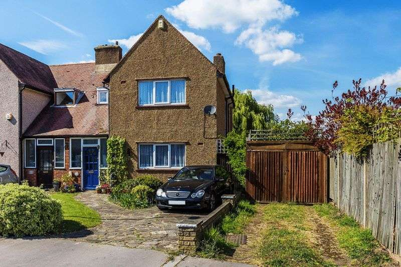 3 Bedrooms Semi Detached House for sale in Selwood Road, Addiscombe, CROYDON, Surrey