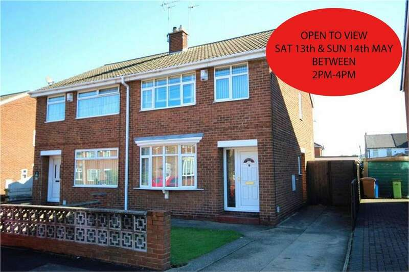 3 Bedrooms Semi Detached House for sale in Nicholson Close, Beverley, East Riding of Yorkshire