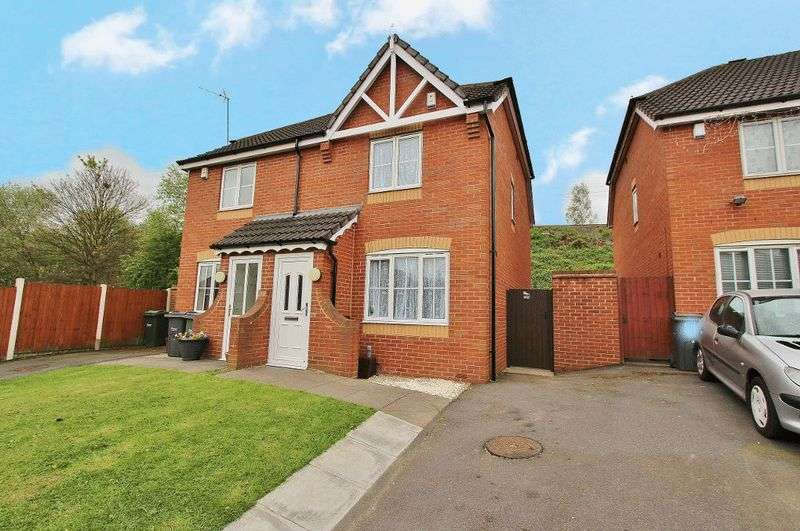 2 Bedrooms Semi Detached House for sale in Johns Lane, Tipton