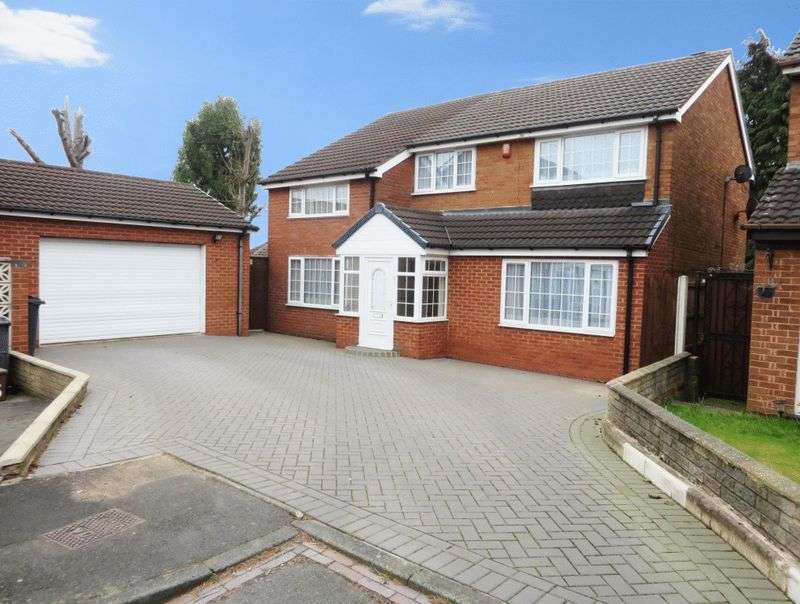 4 Bedrooms Detached House for sale in Payton Close, Oldbury