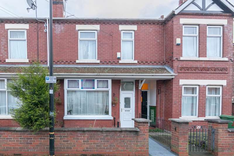 4 Bedrooms Terraced House for sale in Beresford Road, Manchester, Greater Manchester, M32