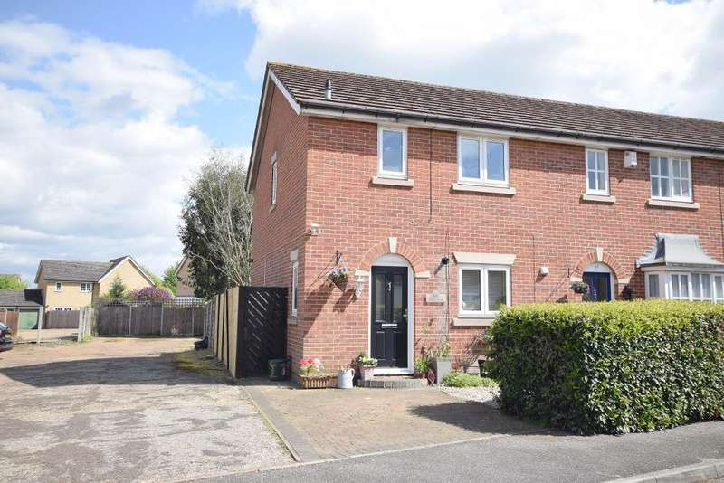 3 Bedrooms Terraced House for sale in Hadley Grange, Church Langley, CM17 9PQ
