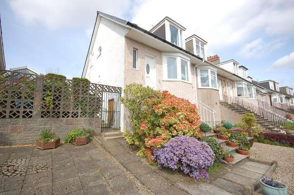 2 Bedrooms End Of Terrace House for sale in 39 Kingsdyke Avenue, Kings Park, Glasgow, G44 4LR