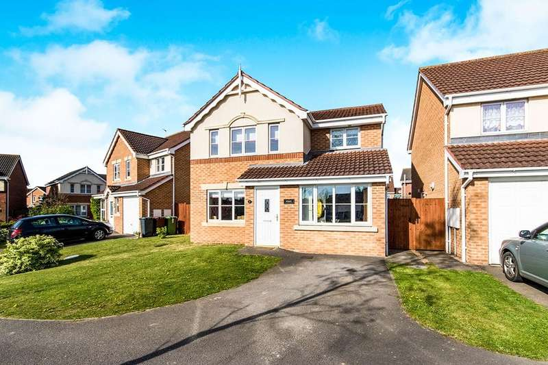 3 Bedrooms Detached House for sale in Anglesey Close, Lincoln, LN6