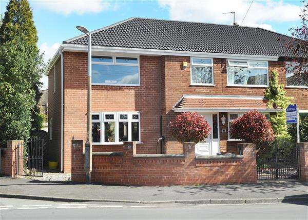 3 Bedrooms Semi Detached House for sale in 51 Broadway, Irlam M44 6BF