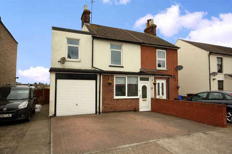 4 Bedrooms Semi Detached House for sale in Britannia Road, Ipswich