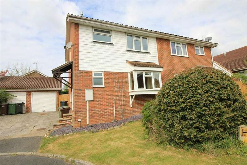 3 Bedrooms Semi Detached House for sale in 10 Wren Court, BATTLE, East Sussex