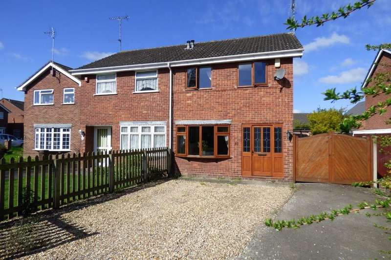 3 Bedrooms Semi Detached House for sale in Stanley Crescent, Uttoxeter