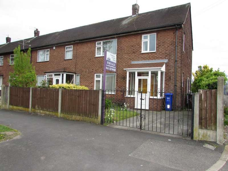 3 Bedrooms End Of Terrace House for sale in Foxfield Road, Manchester,Wythenshawe