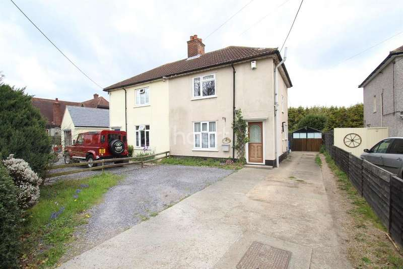 3 Bedrooms Semi Detached House for sale in Upper Cottages, Abberton road, Colchester, CO2