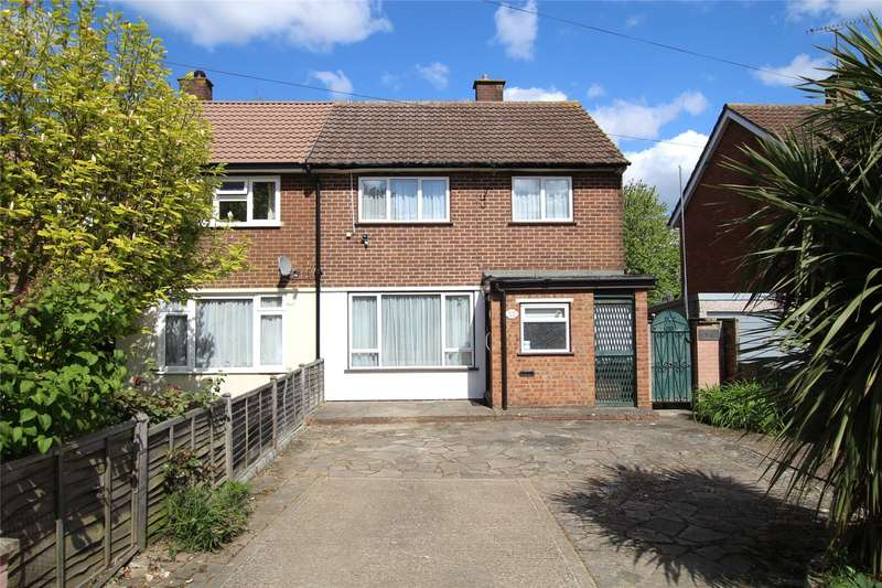 3 Bedrooms Semi Detached House for sale in Thirlmere Drive, St. Albans, Hertfordshire, AL1