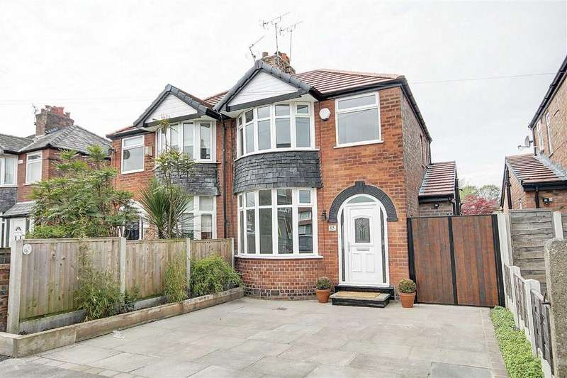 3 Bedrooms Semi Detached House for sale in Deansgate Lane, Timperley, Cheshire