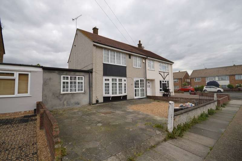 3 Bedrooms Semi Detached House for sale in Jenningtree Road, Erith, DA8
