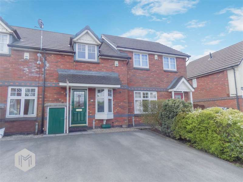 2 Bedrooms Terraced House for sale in Glazebury Drive, Westhoughton, Bolton, Lancashire