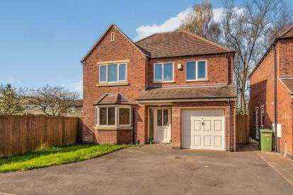 4 Bedrooms Detached House for sale in Hazel Brooke Court, Hazelslade, Cannock, Staffordshire